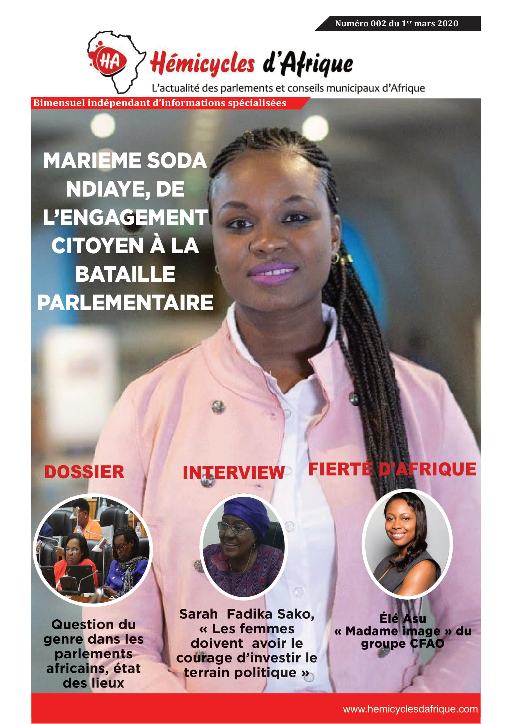 Magazine HA 002 du 01-03-2020